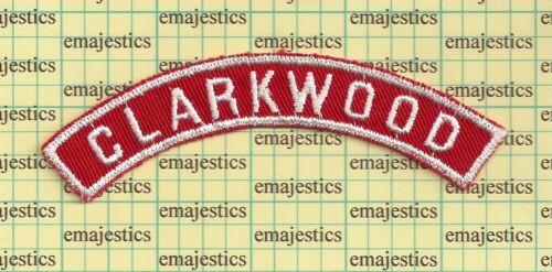 BSA RWS CLARKWOOD TEXAS RED & WHITE COMMUNITY STRIP MINT