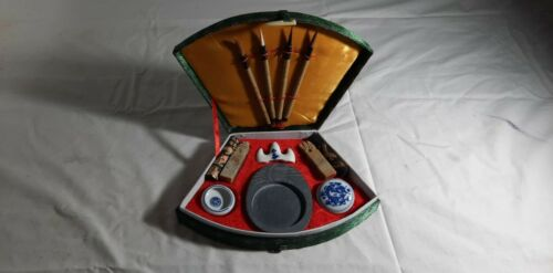 Authentic Vintage Chinese Calligraphy Set