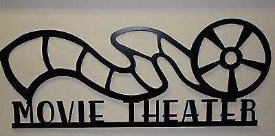 Metal Wall Art Home Decor Movie Theater Reel 24