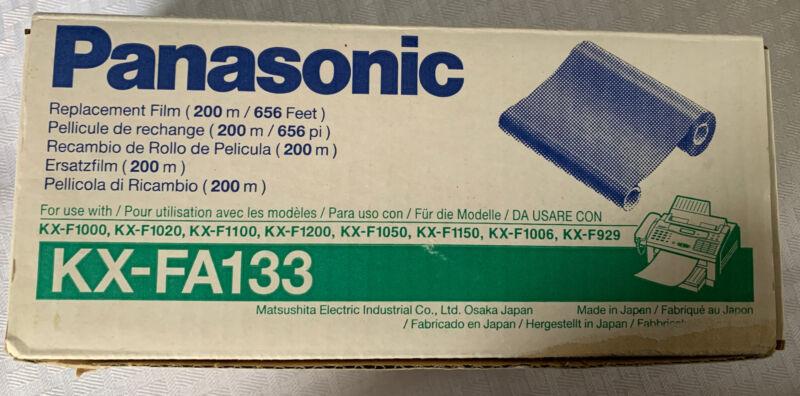 Genuine Panasonic KX-FA133 Replacement Film Single Roll 200 m 656 Feet