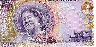 """RARE RBS £20 COMMEMORATIVE NOTE  04/08/2000  PREFIX QETQM0047128 """"GOODWIN""""  UNC"""