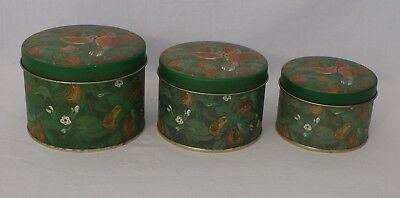 Set of Three Storage Tins (B11)