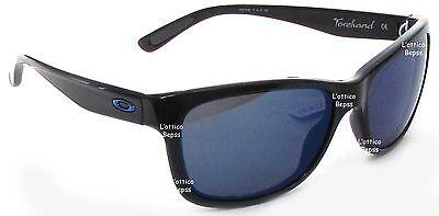 Sonnenbrille OAKLEY MOD. FORCHAND 9179-29 schwarz glänzend Objektiv ICE IRIDIUM
