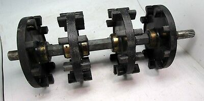 2007 Yamaha RS Vector Front Axle Track Drive Sprockets Wheels FREE SHIPPING