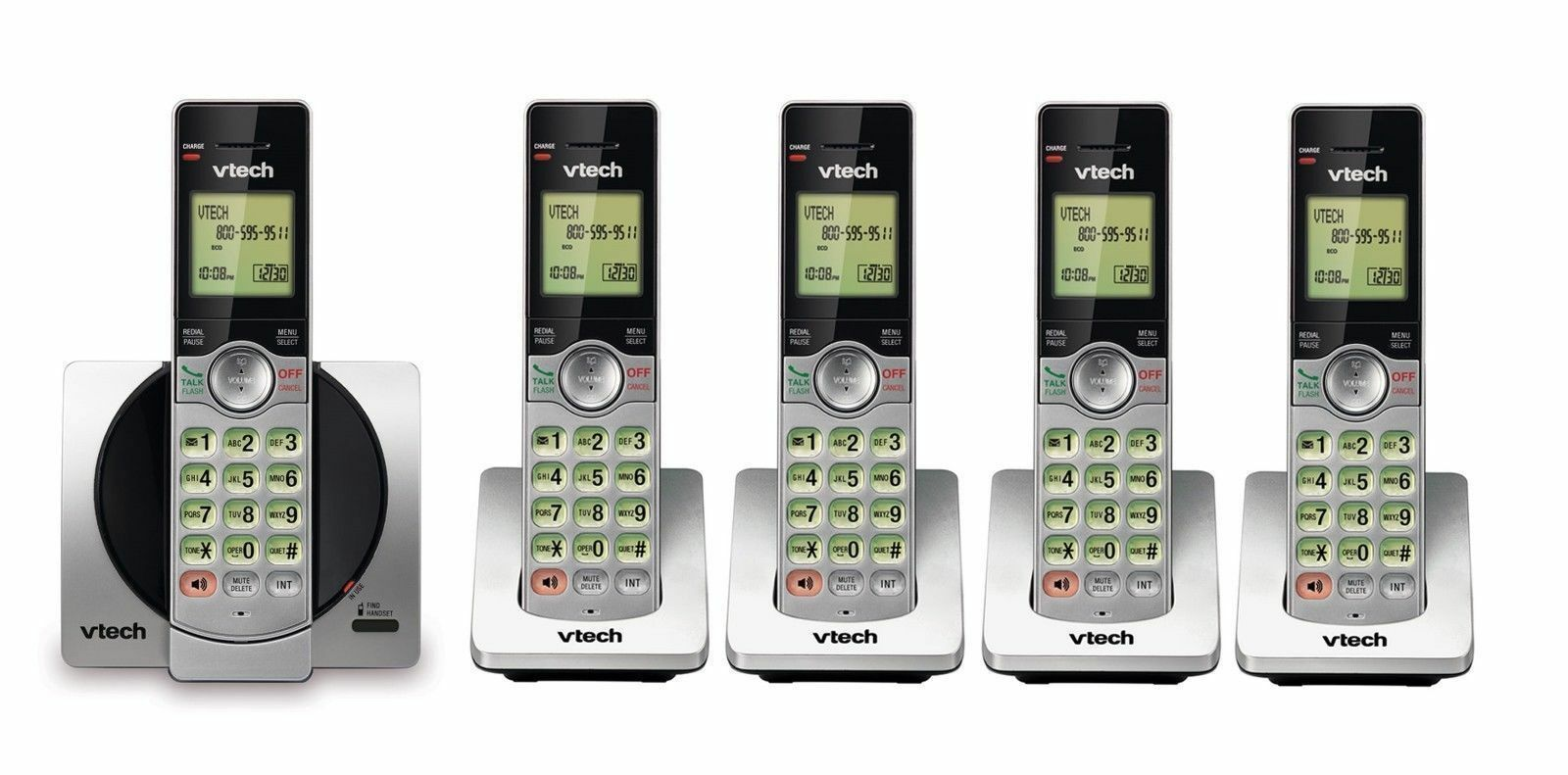 Landline Set DECT 6.0 Cordless Telephone Portable Wireless Home  LCD Phone lot
