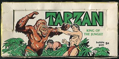 1966 Philadelphia Tarzan 5-Cent Display Box