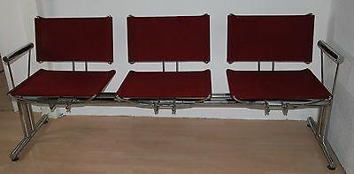 TRAVERSE Wartezimmer 3-Sitzer Wartebank Sitzbank KUSCH & CO HU Bitsch Serie 8600
