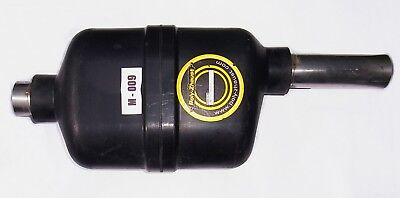 Exhaust Rear Back Box Silencer universal Poly-Zhaust polymeric. M_009