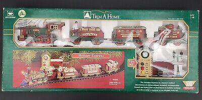 New Bright Holiday Express- Train Set- 2001- No. 178- In Box- Christmas