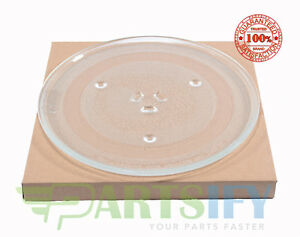 NEW GLASS MICROWAVE TURNTABLE PLATE TRAY EXACT FIT FOR GE (SEE MODEL LIST)