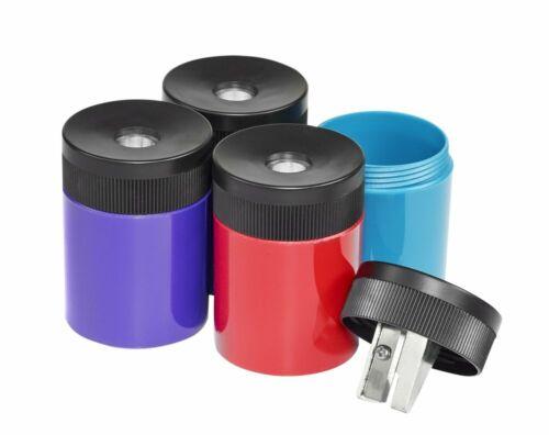 STAEDTLER pencil sharpener, premium quality sharpener with screw-on lid, prevent