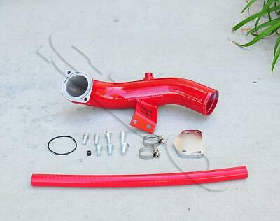 Red EGR Delete Intake Kit For 2004 May-2005 Chevy GMC 6.6L V8 Diesel Duramax Lly