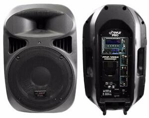 New - BOOST YOUR IPOD TO 1000 WATTS - AWESOME FOR PARTIES - PYLE AMPLIFIED SPEAKER SYSTEM WITH LOADS OF FEATURES !!