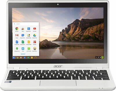Acer Chromebook C720P-2457 Intel Celeron 2957U X2 1.40GHz 4GB 32GB, White