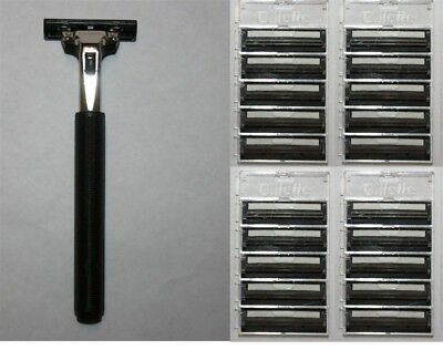 21 Gillette Atra Razor Blades Fit Schick Slim Twin Plus Refill Cartridges shaver Atra Plus Refill Cartridges