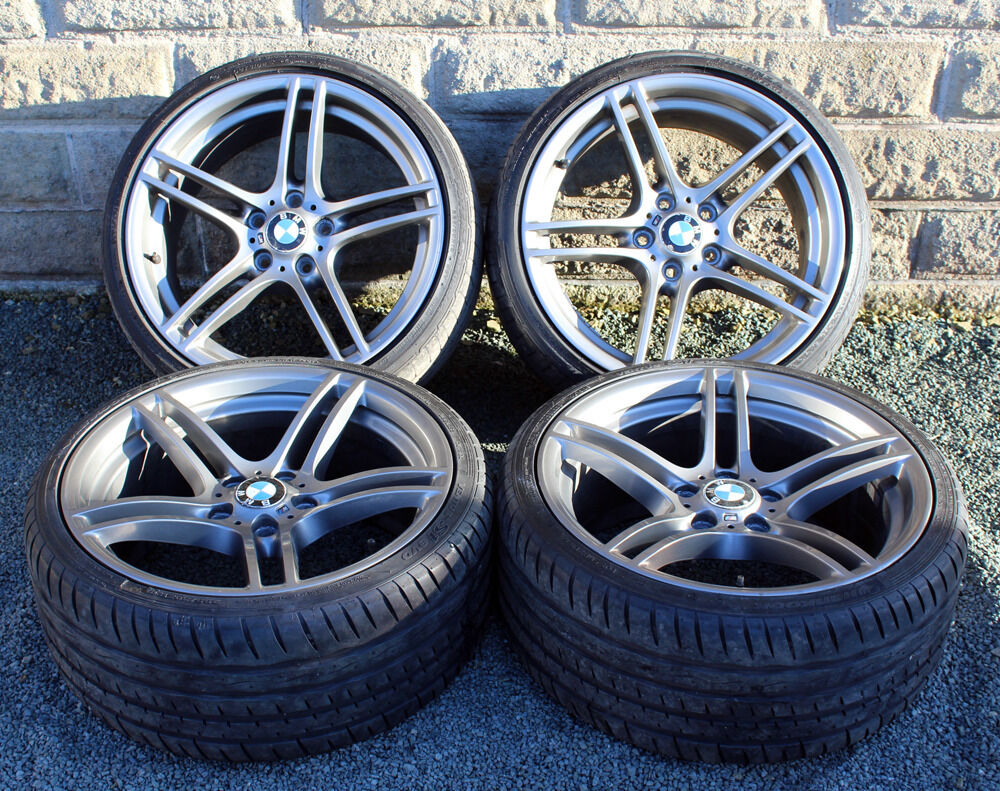 19 Quot Genuine Bmw Bbs 313 Alloy Wheels Tyres 5x120 E46 E90