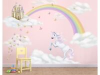 Childrens Murals, Wall Stickers and Nursery Wall art