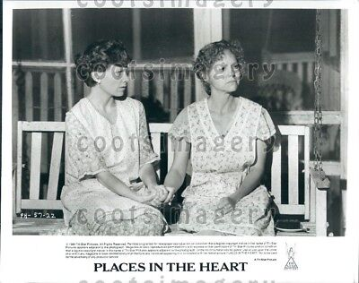 1984 Wire Photo Actress Sally Field & Lindsay Crouse Movie Places In the Heart for sale  Whiteville