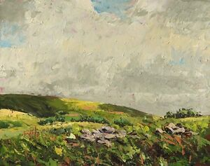 On-The-Glyn-Original-oil-on-board-painting-by-Geoff-Dawson