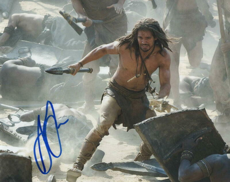 STEVEN STRAIT SIGNED AUTOGRAPH 8X10 PHOTO - 10,000 BC SHIRTLESS STUD THE EXPANSE