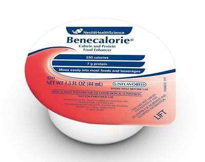 5 Cases 24 Per Case Benecalorie Calorically-dense Unflavored 330 Cal 1.5 Oz Cups