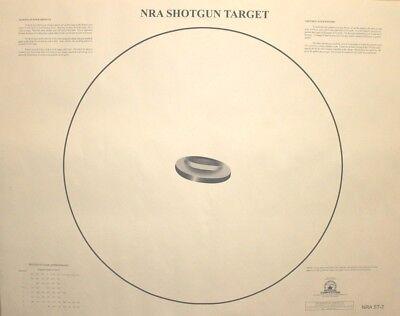 NRA ST-2 Official Shotgun Sighting/Patterning Target, 35