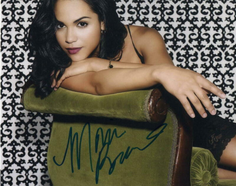 MONICA RAYMUND SIGNED AUTOGRAPH 8X10 PHOTO - THE GOOD WIFE, CHICAGO FIRE BABE