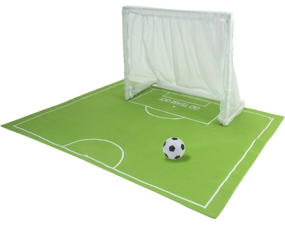 "Soccer Field Hockey Sports Field w Net Goal for 18"" American Girl Doll Accessory"