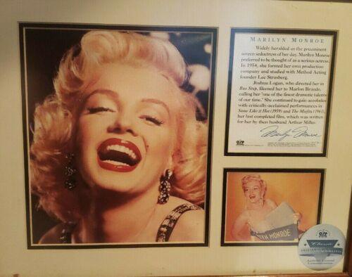 RARE Marilyn Monroe Smile Special Collectors Edition Print COA OSP Publishing 20