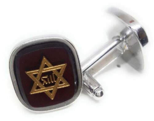 STAR OF DAVID CUFFLINKS MANUFACTURERS DIRECT PRICING