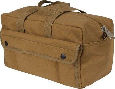 Coyote Brown Heavyweight Military Mechanics Standard Tool Bag
