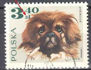 Poland 1969 - Dogs - error Mi. 1903 - used - <span itemprop=availableAtOrFrom>Cieszyn, Polska</span> - Poland 1969 - Dogs - error Mi. 1903 - used - Cieszyn, Polska