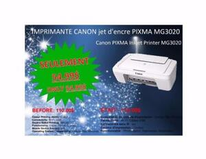 WOW 50% DE RABAIS/50% OFF - Imprimante/Printer Canon Wifi, scanner, photocopieur
