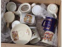 A Box of Royal Commemorative Items
