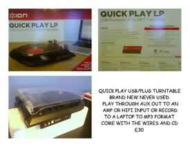 LP RECORD PLAYER