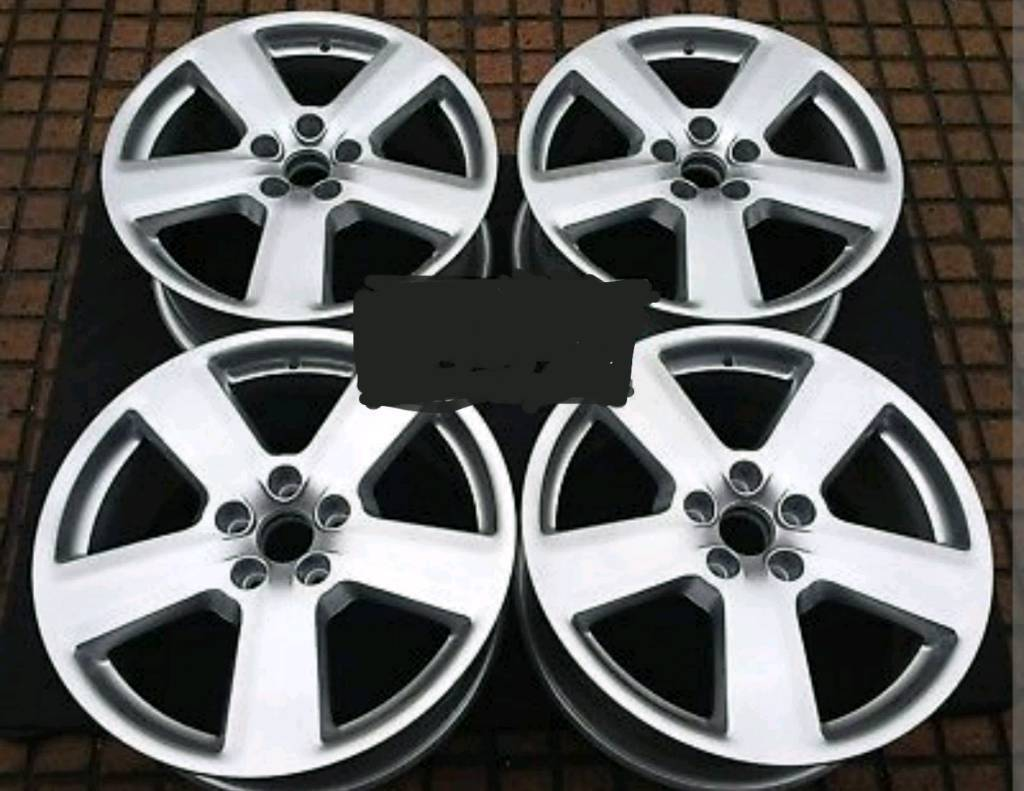 "AUDI 18"" 5 SPOKE ALLOYS. SUPERB CONDITION. *AVAILABLE"