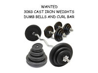 WEIGHTS WANTED