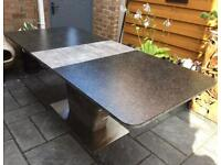Gorgeous - Large Extending Dining Table - 200 x 90 - Brand New / Immaculate.