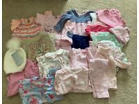Baby girl 3-6 month clothes bundle
