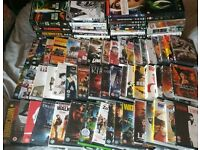 90 DVDs/Box sets. Some new/sealed