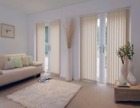 Made to Measure Vertical Venetian Blinds, Rollers, Pleated, Perfect Fit, Installation & Fitting!