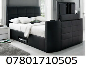 BED BRAND NEW ELECTRIC TV BED AND STORAGE 1059