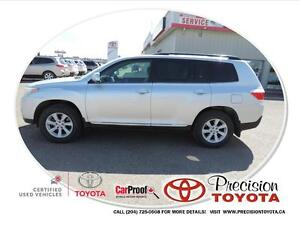 2012 Toyota Highlander V6 Bluetooth, Backup Camera, Power Seat