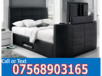 BED BRAND NEW ELECTRIC TV BED AND STORAGE 14