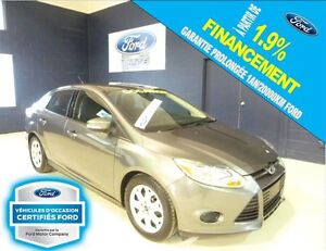 2014 Ford Focus BERLINE, SE, CERTIFIÉ 1.9% FORD