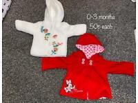 Cheap 0-3 month clothes