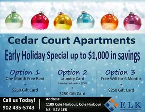 Cedar Court Apt | Early Holiday special up to $1,000 in savings