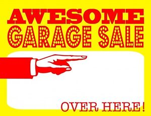 Last Day for Garage Sale Green Acre Park