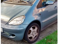 Mercedes-Benz A Class 1.7 A170 CDI Avantgarde 5dr (SWB) breaking for spares
