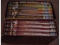 John Wayne DVD box set's